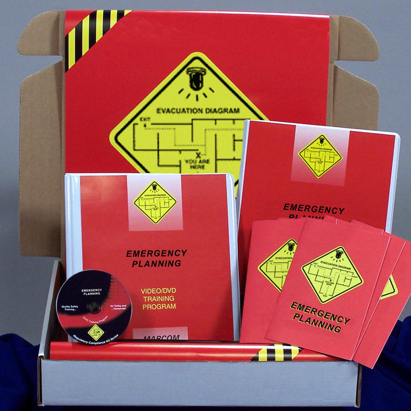 Emergency Planning DVD & Printed Materials