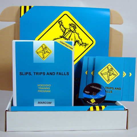 Slips, Trips, and Falls in Construction Environments DVD