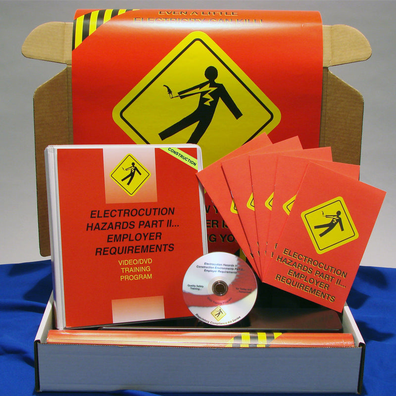 Electrocution Hazards In Construction Environments PART II Employer Requirements DVD & Printed Materials