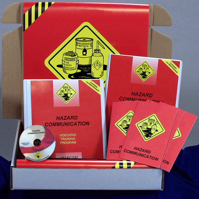 Hazard Communication in Cleaning and Maintenance Operations DVD & Printed Materials