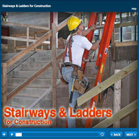 Stairways & Ladders for Construction - Online Course