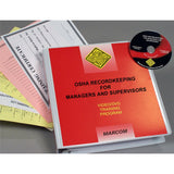 OSHA Recordkeeping for Managers and Supervisors DVD Only
