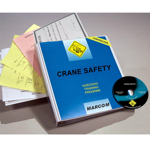 Crane Safety in Construction Environments DVD