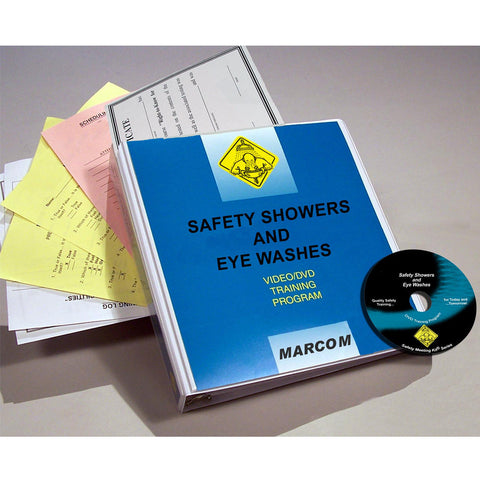 Safety Showers and Eye Washes DVD