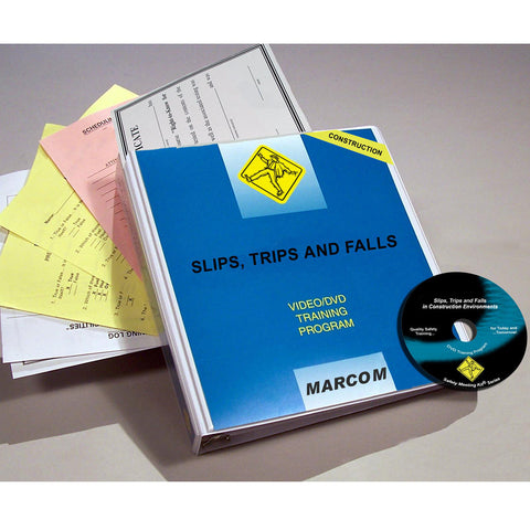 Slips, Trips, and Falls in Construction Environments DVD Only