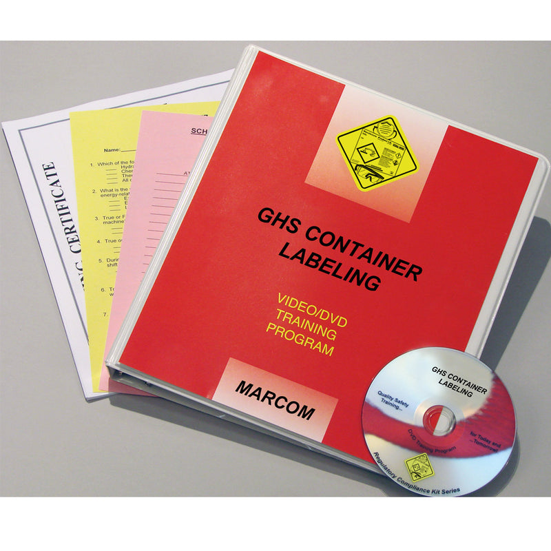 GHS Container Labeling DVD Only