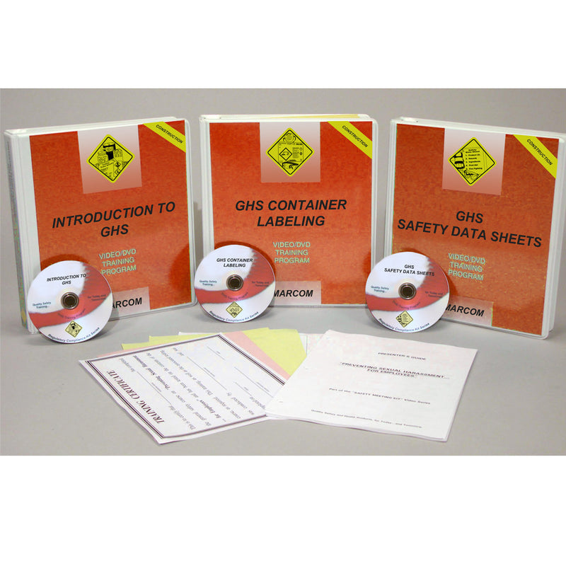 GHS Construction Compliance Package DVD Only