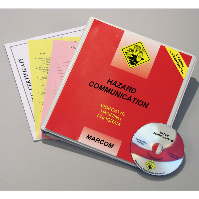 Hazard Communication in Cleaning and Maintenance Operations DVD Only
