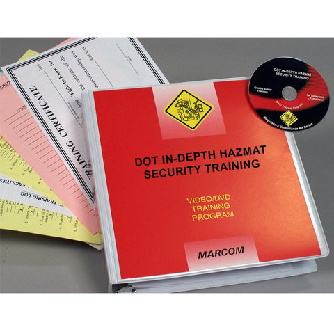 DOT In-Depth HAZMAT Security Training DVD Only