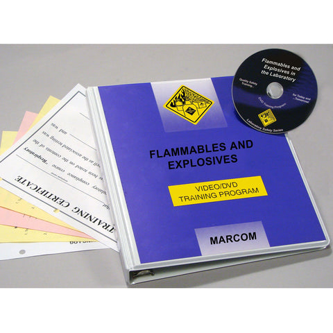 Flammables and Explosives in the Laboratory DVD