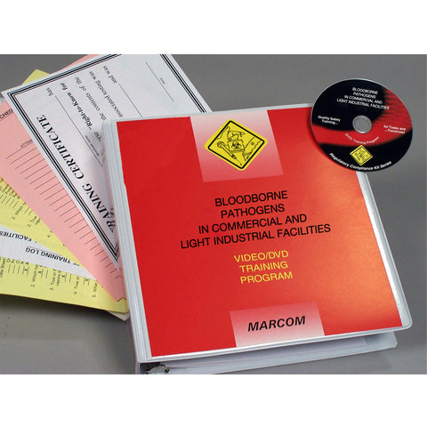 Bloodborne Pathogens in Commercial and Light Industrial Facilities DVD Only