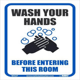 Wash Your Hands Before Entering