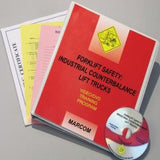 Forklift Safety: Industrial Counterbalance Lift Trucks Safety DVD Only