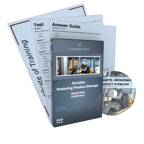 Forklift Safety - Reducing Product Damage DVD