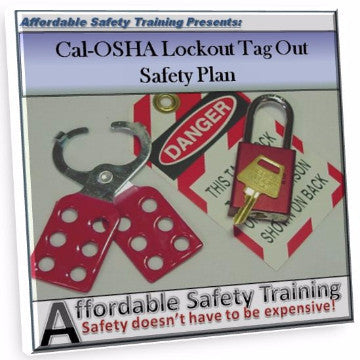 Cal-OSHA Lockout Tagout Energy Control Plan