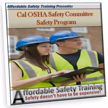 California Safety Committee Policy