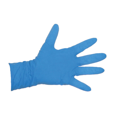 House Brand Blue Latex Gloves / GLO-B