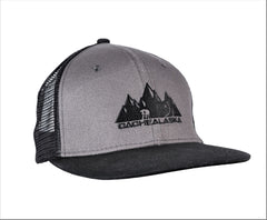 Trucker Hat Flat Brim with Snap Back Buckle