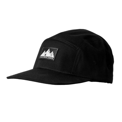 Panel Hat - Flat Brim Baseball Cap with Snap Back Buckel
