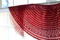 Red Shawl Pattern