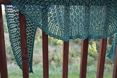 New Leaves Shawl Pattern