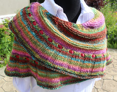 Simple Pleasures Crescent Shawl Pattern