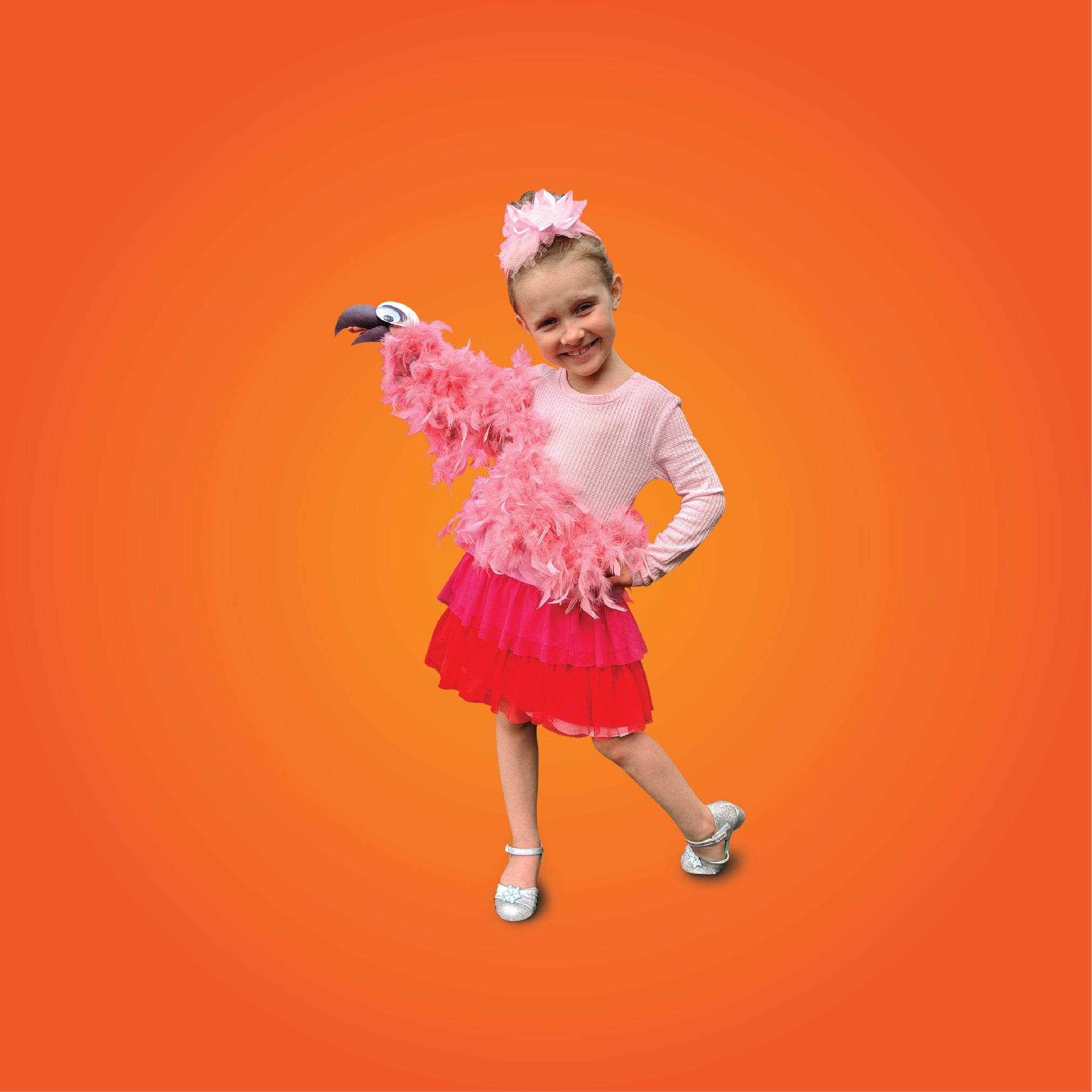 Flamingo DIY Costume Idea