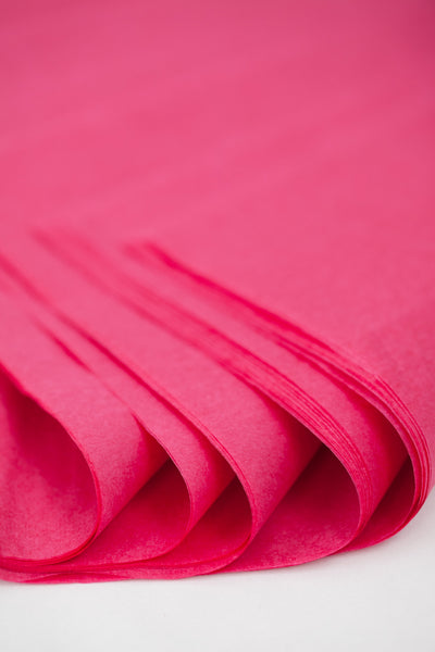 Raspberry Tissue Paper  24 Sheets- 20 in x 30 in