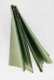 moss green tissue paper sheets