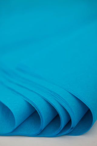 Turquoise Blue Tissue Paper 24 Sheets - 20 inch x 30 inch