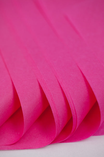 hot pink tissue paper