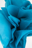 Peacock Blue Tissue Paper 24 Sheets - 20 inch x 30 inch