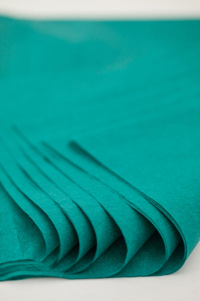 Teal Tissue Paper 24 Sheets - 20 inch x 30 inch