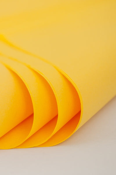 Yellow Tissue Paper 24 Sheets - 20 inch x 30 inch