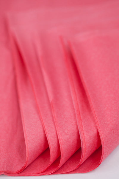 Coral tissue paper sheets