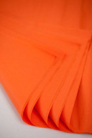 Orange Tissue Paper 24 Sheets - 20 inch x 30 inch