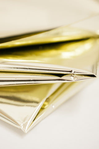 gold mylar sheets