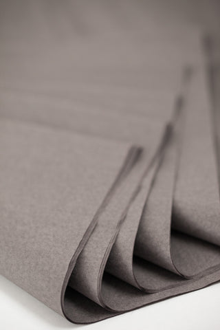 dark gray tissue paper