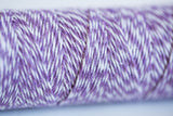 Purple Lavender Baker's Twine - 4 ply Cotton String 100 yards