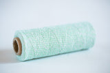 mint green bakers twine spool
