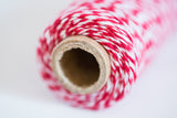 Red Baker's Twine - 4 ply Cotton String 100 yards