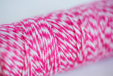 hot pink bakers twine 100 yards