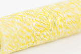 cotton string in bright yellow