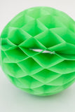 Green Honeycomb Ball 8 inch | Tissue Paper Honeycomb Decoration