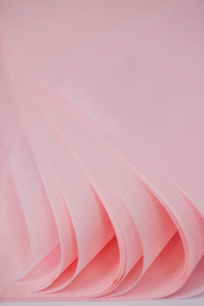 Blush Pink Tissue Paper - 24 sheets