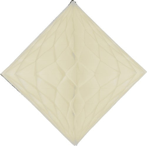 ivory diamond honeycomb decoration 18 inch