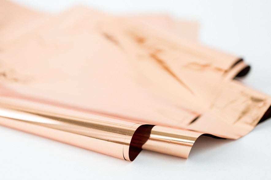 ROSE GOLD MYLAR