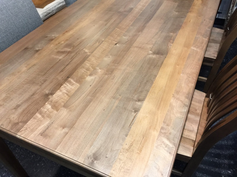 maple wood dining table alexandria fairfax va