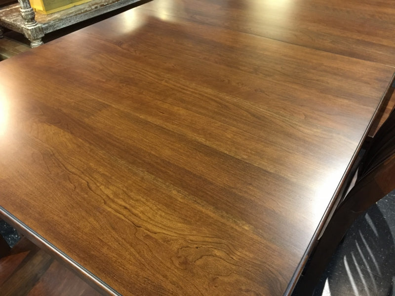 cherry wood dining table alexandria virginia