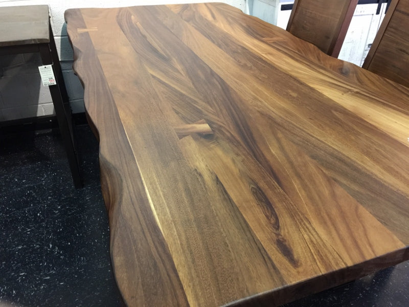 parota wood dining table fairfax virginia